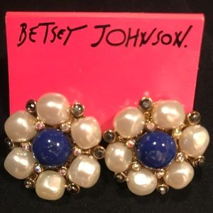 Authentic Betsey Johnson earrings
